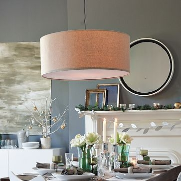 Excellent Variety Of West Elm Drum Lights Intended For 13 Best Dining Room Light Fixture Images On Pinterest (Image 11 of 25)