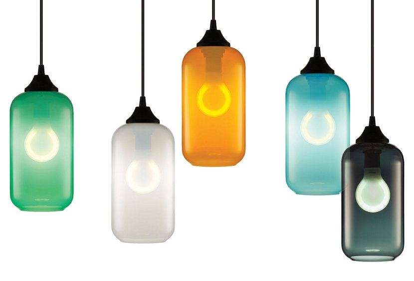 Excellent Wellknown Coloured Glass Pendant Lights Regarding Mesmerizing Colored Glass Pendant Lights Marvelous Small Pendant (Image 9 of 25)