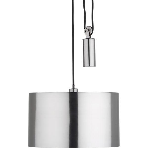 Excellent Well Known Double Pulley Pendant Lights With Pendant Lamp Cb (Image 6 of 25)