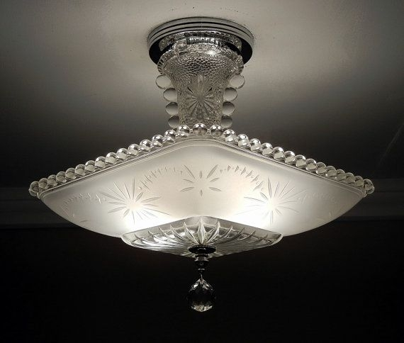 Excellent Well Known Fleur De Lis Light Fixtures With Regard To Best 25 Glass Ceiling Lights Ideas Only On Pinterest Beach (Image 8 of 25)