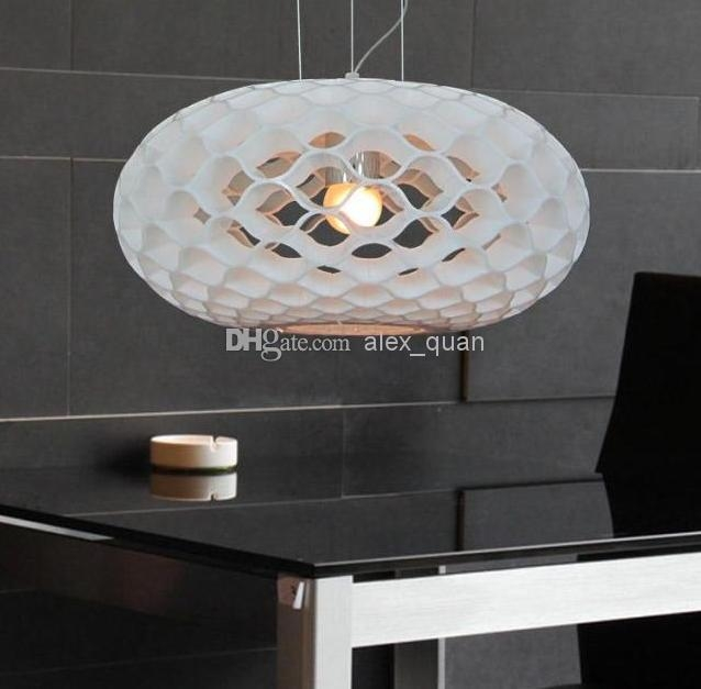 Excellent Well Known Honeycomb Pendant Lights Regarding Italy Acrylic Pendant Light Modern Honeycomb Chandelier Restaurant (Image 7 of 25)