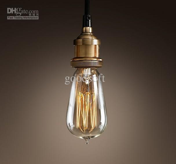 Excellent Wellknown Pendant Light Edison Bulb Inside Hanging Edison Light Bulb (Image 11 of 25)