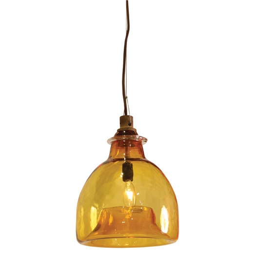 Excellent Wellliked Brown Glass Pendant Lights Throughout Shopping For Glass Pendant Lamps Popsugar Home (Image 13 of 25)
