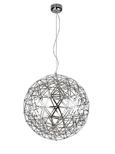 Excellent Wellliked Stainless Steel Pendant Light Fixtures Inside Kiven Sparking Stars Lights Modern Style Globle Shade Stainless (Image 8 of 25)