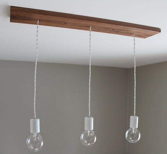Excellent Wellliked Three Light Bare Bulb Pendants With Regard To 15 Best Images About Luminaire On Pinterest (Image 9 of 25)
