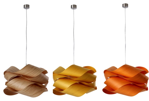 Excellent Wellliked Wood Veneer Pendant Lights With Wood Veneer Link S Lamps Lzf Fooyoh Entertainment (View 12 of 25)
