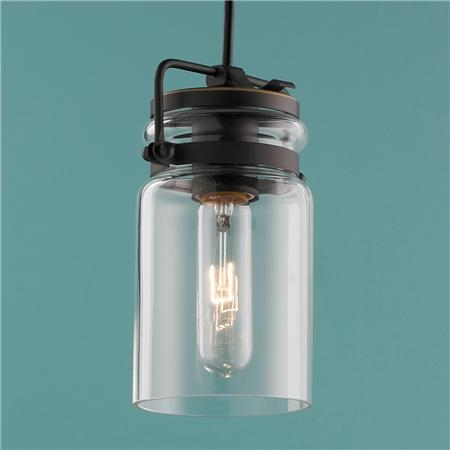 Excellent Widely Used Mason Jar Pendant Lights With Glass Jar Pendant Light Sl Interior Design (Image 5 of 25)