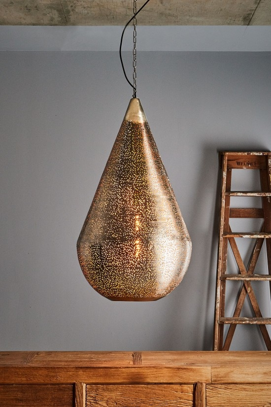 Excellent Widely Used Punched Metal Pendant Lights Regarding Pendant Lights Industrial Styles Sydney Zaffero (Image 8 of 25)