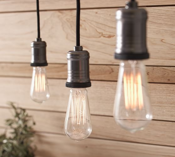 Excellent Widely Used Track Lighting Pendant Fixtures Throughout Exposed Bulb Pendant Track Lighting Pottery Barn (View 2 of 25)