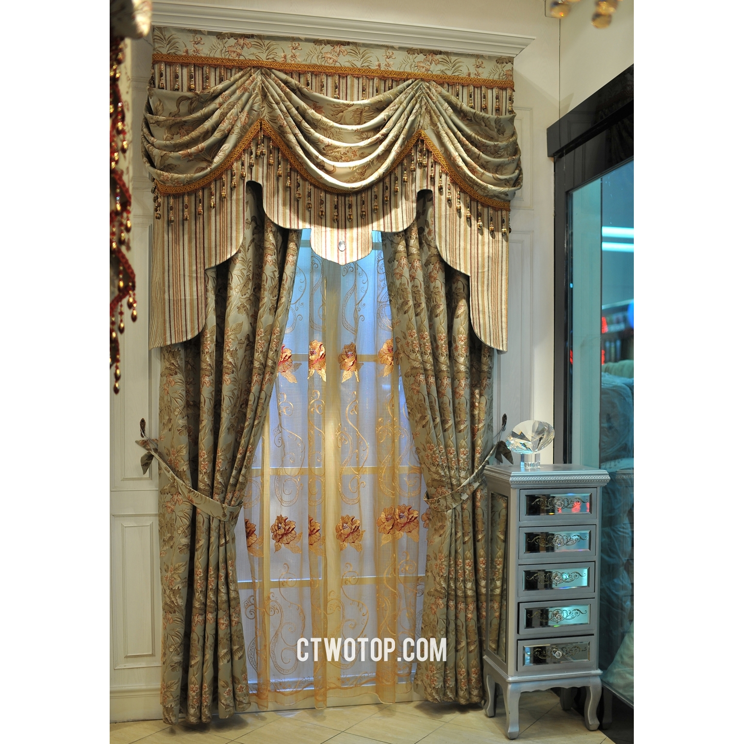 Exceptional Decorative Curtains For Living Room 1 Swag Curtain Inside 63 Inches Long Curtains (Image 13 of 25)