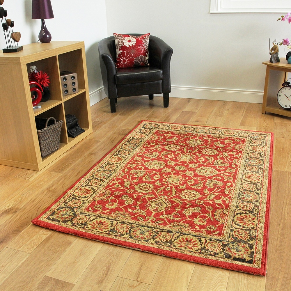 Extra Large Traditional Rugs Roselawnlutheran With Large Red Rugs (View 15 of 15)