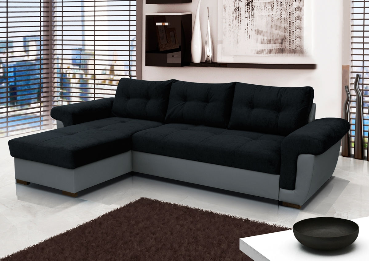 Fabric Corner Sofa Bed Cheap Hereo Sofa In Cheap Corner Sofa Bed (Image 3 of 15)