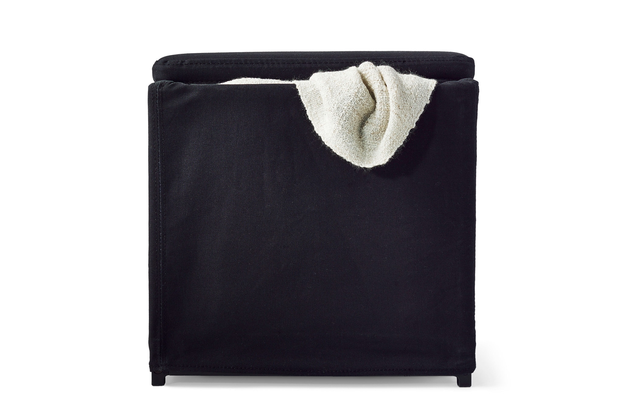 Fabric Footstools Fabric Pouffe Ikea Within Fabric Footstools And Pouffes (Image 4 of 15)