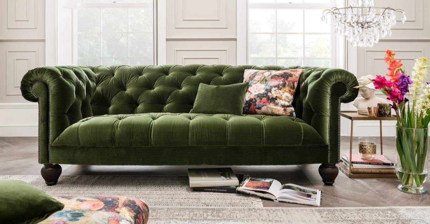 Fabric Sofas With Fabric Sofas (Image 9 of 15)