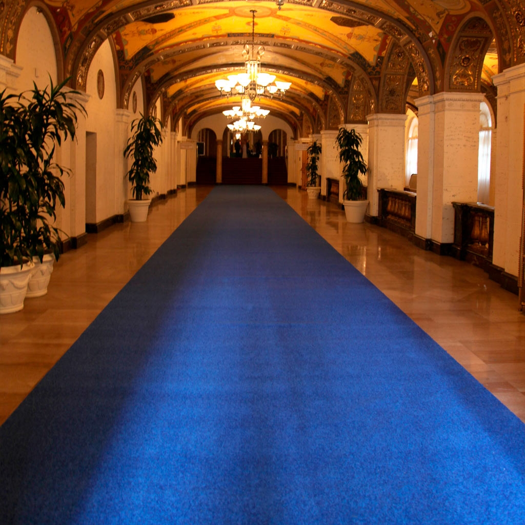 Factory Direct Event Blue Carpet Runners For Sale Shipping With Regard To Blue Carpet Runners (Image 14 of 15)
