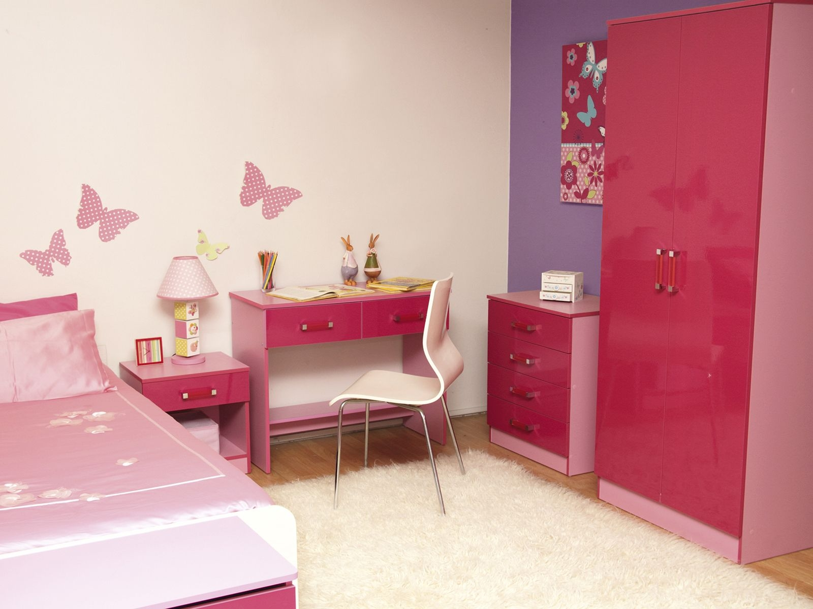 Featured Image of Childrens Pink Wardrobes