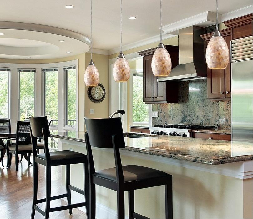 Fantastic Best Mini Pendant Lights For Kitchen Within Mini Pendant Lights For Kitchen 8169 Baytownkitchen (Image 10 of 25)