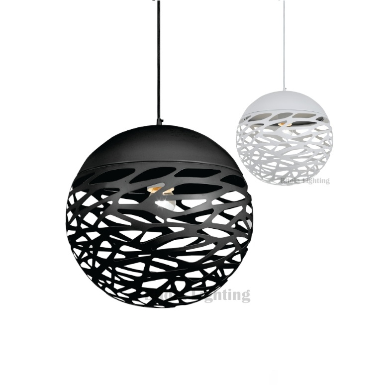 Fantastic Brand New Ball Pendant Lighting With Regard To Farina Ball Pendant Light 30 40 Sizes Black Bronze White (Image 9 of 25)
