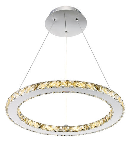 Fantastic Brand New Patriot Pendant Lighting In Patriot Lighting Elegant Home Noah Dimmable Led Circle Pendant At (Image 10 of 25)