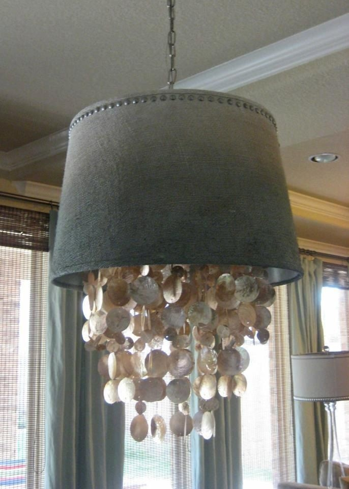 Fantastic Brand New Shell Light Shades Regarding Surprising Chandelier Light Shades Gorgeous Lamps With Black (Image 14 of 25)