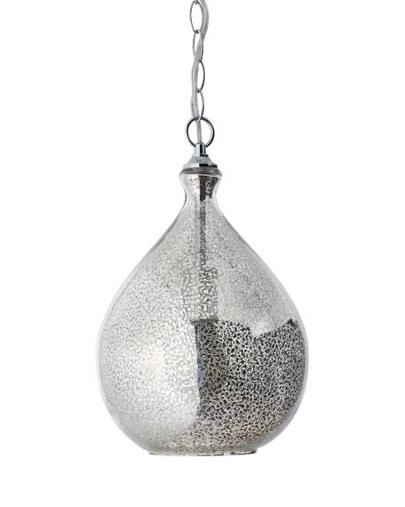 Fantastic Common Mercury Glass Pendant Lights In Mercury Glass 1 Light Pendant (View 21 of 25)