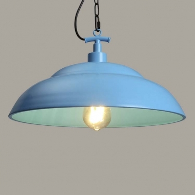Fantastic Common Pale Blue Pendant Lights Pertaining To Fashion Style Blue Pendant Lights Industrial Lighting (View 23 of 25)