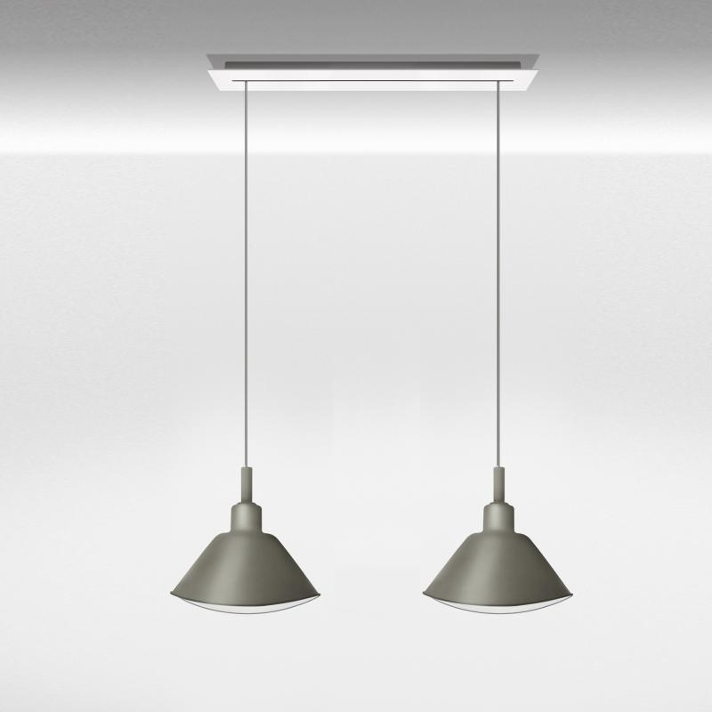 Fantastic Deluxe Double Pendant Light Fixtures Inside Diesel Smash Grande Sospensione Double Pendant Light Li4171sr  (Image 8 of 25)