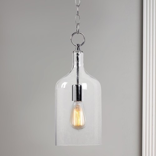 Fantastic Deluxe Glass Jug Pendant Lights In Can This Glass Jug Pendant Light Be Hung On A Slope Ceiling (View 9 of 25)