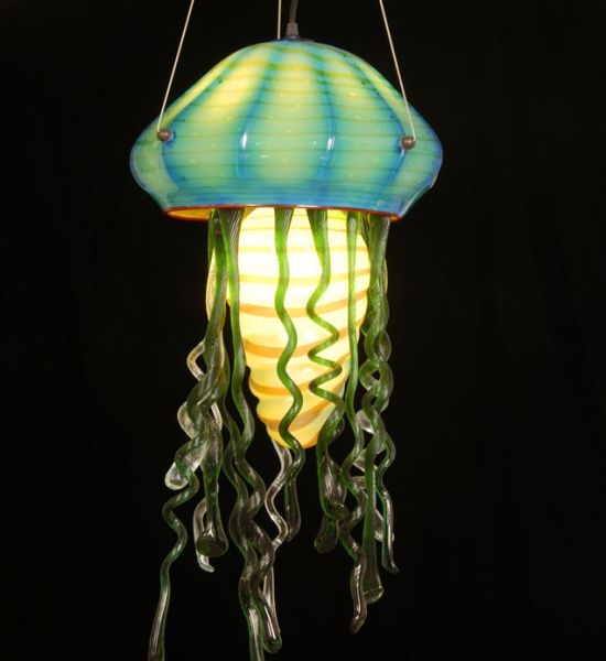 Fantastic Deluxe Jellyfish Pendant Lights Within Jellyfish Lighting Ideas For Your Home Ultimate Home Ideas (Image 8 of 25)