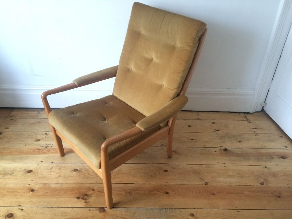 Fantastic Elite Cintique Chair Covers Inside Vintage 1950s Mid Century Cintique Armchair Retro And Unusual (Image 6 of 15)
