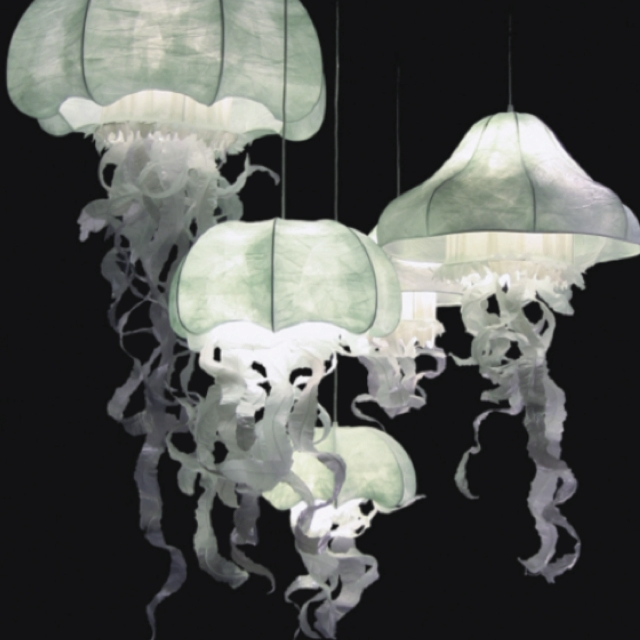 Fantastic Elite Jellyfish Inspired Pendant Lights Inside Jellyfish Lights Objects Pinterest Jellyfish Lights And (Image 13 of 25)