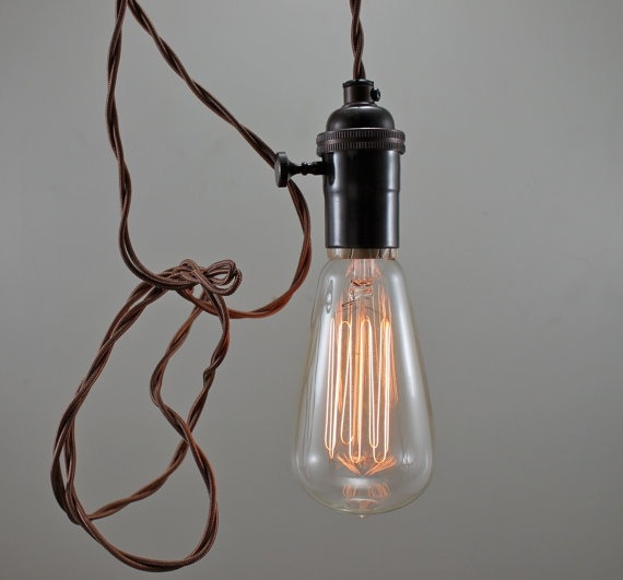 Fantastic Famous Bare Bulb Filament Pendants Throughout Inspiring Light Pendant Lighting Cozy Bliss (Image 10 of 25)