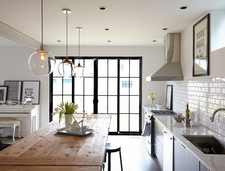 Fantastic Fashionable Pendant Lamps For Kitchen Within 25 Best Kitchen Pendant Lighting Ideas On Pinterest Kitchen (View 20 of 25)