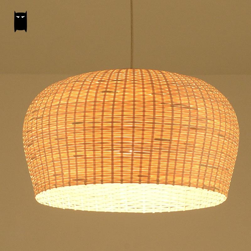 Rattan Pendant Light Fixtures Pendant Lights Ideas
