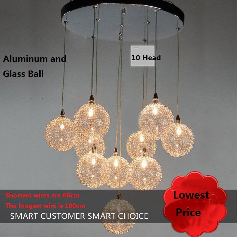 Fantastic Fashionable Wire Ball Light Pendants In Popular Lights Aluminum Wire Glass Balls Buy Cheap Lights Aluminum (Image 11 of 25)