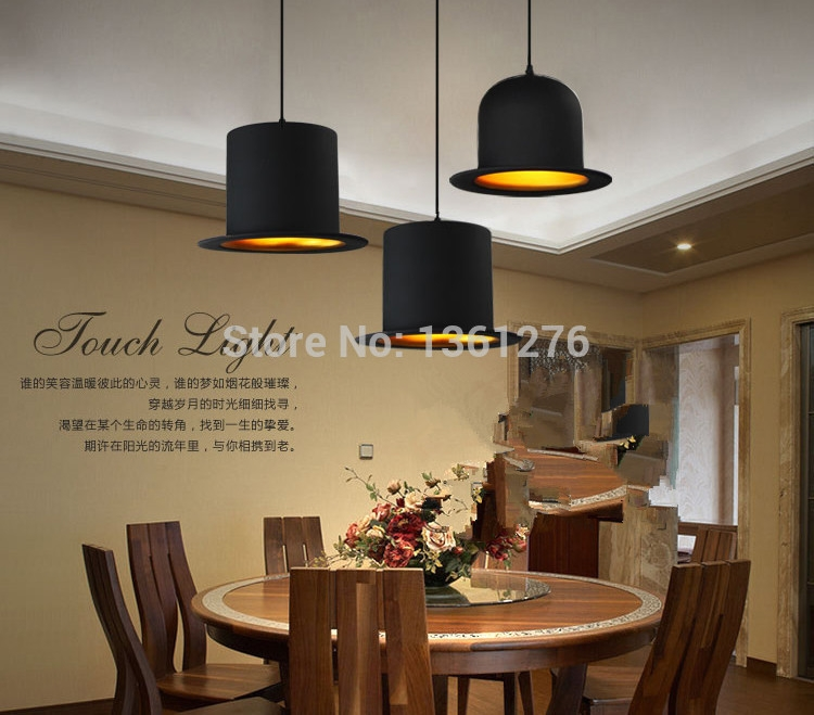 Fantastic Favorite Jeeves And Wooster Pendant Lights Intended For Popular Top Hat Pendant Lights Buy Cheap Top Hat Pendant Lights (Image 9 of 25)