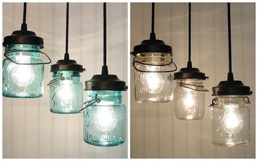 Fantastic Favorite Mason Jar Pendant Lamps Pertaining To 18 Diy Mason Jar Chandelier Ideas Guide Patterns (Image 7 of 25)