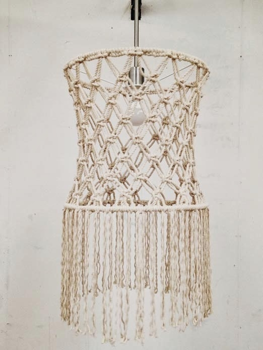 Fantastic High Quality Macrame Pendant Lights In Handmade Macrame Pendants (Image 9 of 25)