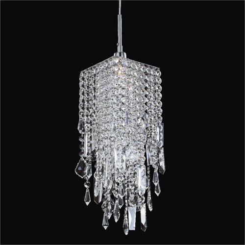 25 Best Ideas Black Pendant Light With Crystals Pendant