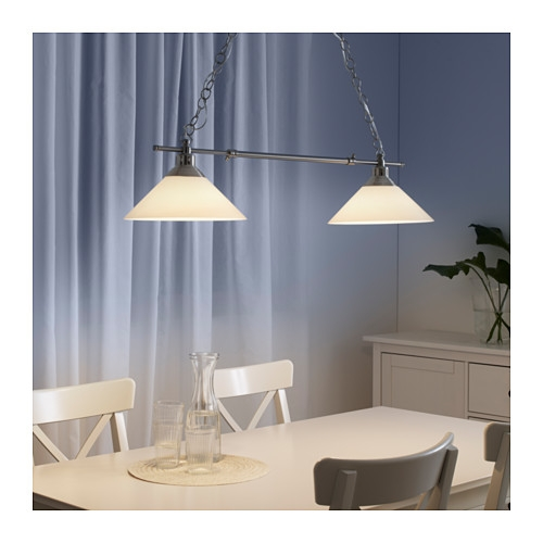 Fantastic New Double Pendant Light Fixtures Within Kro Pendant Lamp Double Ikea (Image 10 of 25)