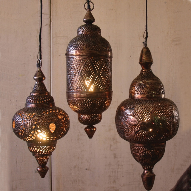 Fantastic New Moroccan Punched Metal Pendant Lights For Moroccan Pendant Lights Hbwonong (View 4 of 25)