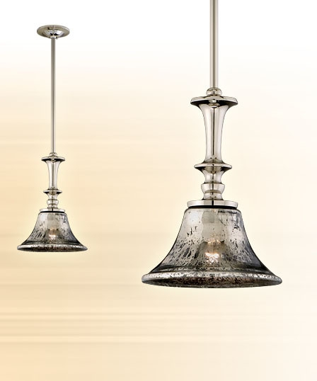 Fantastic Preferred Mercury Glass Pendant Lights At Anthropologie With Regard To New Mercury Glass Chandelier Features Light Decor Pottery Barn (Image 13 of 25)