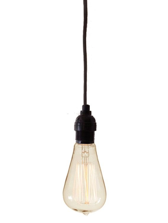 Fantastic Premium Bare Bulb Hanging Pendant Lights Throughout 9 Best Lights Images On Pinterest (View 22 of 25)