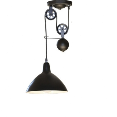 Fantastic Top Adjustable Pulley Pendant Lights Inside Fashion Style Adjustable Swag Industrial Lighting Beautifulhalo (Image 9 of 25)
