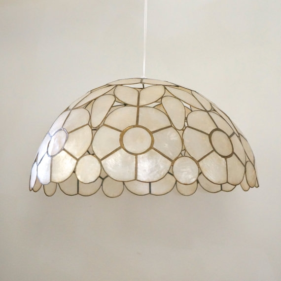 Shell Light Shades Pendants Pendant Lights Ideas