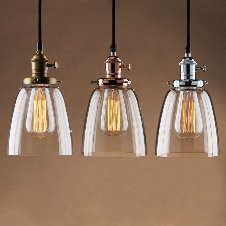 Fantastic Trendy Brown Glass Pendant Lights Pertaining To Best 25 Vintage Pendant Lighting Ideas Only On Pinterest (Image 14 of 25)