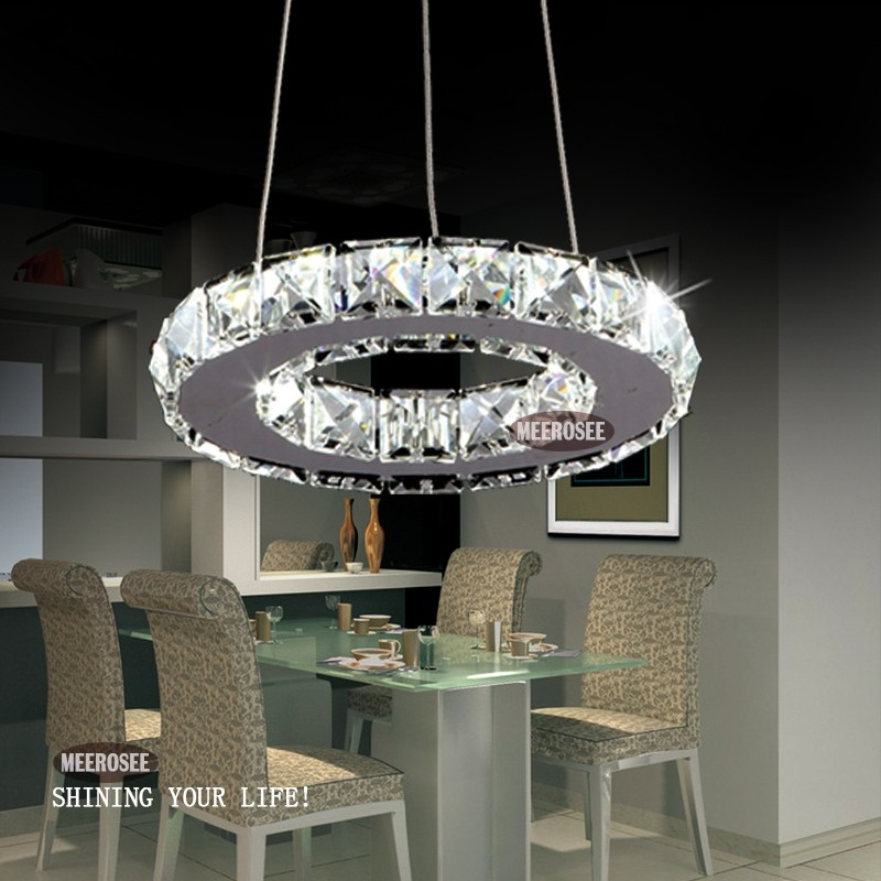 Fantastic Trendy Modern Pendant Chandelier Lighting For Tiffany 1 Circle Diamond Ring Led Lustre Crystal Day Light Modern (Image 7 of 25)