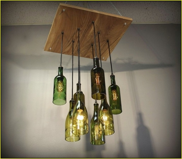 Fantastic Unique Wine Bottle Pendant Light For Soda Bottle Chandelier Pendant Lights Houzz For Wine Bottle (Image 9 of 25)