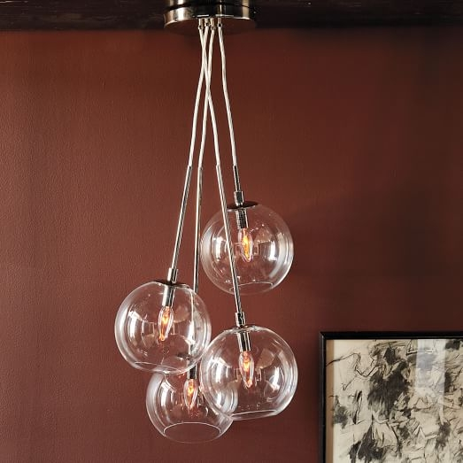 Featured Image of Cluster Glass Pendant Light Fixtures