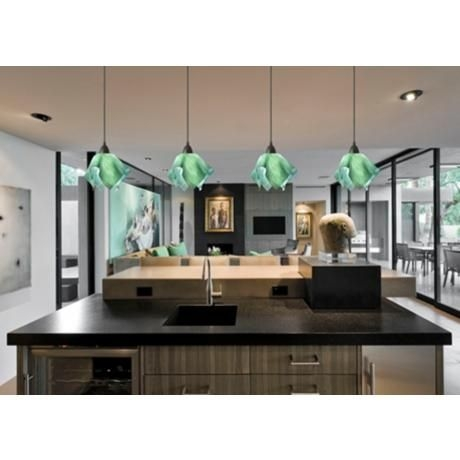 Fantastic Variety Of Green Kitchen Pendant Lights Regarding 22 Best Green Pendant Lights Images On Pinterest (Image 9 of 25)